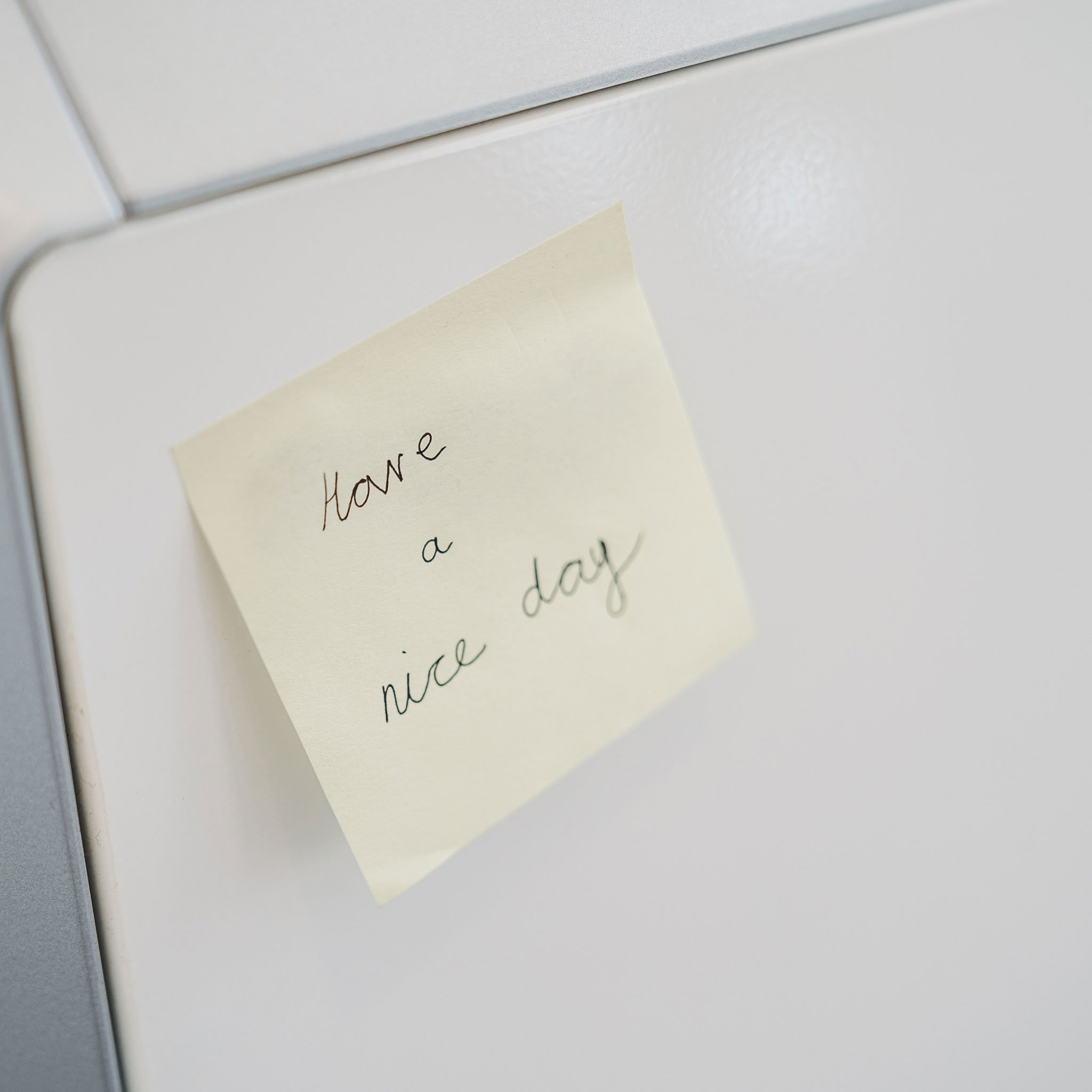 Image of Have a nice day post it for How to Have a Good Day