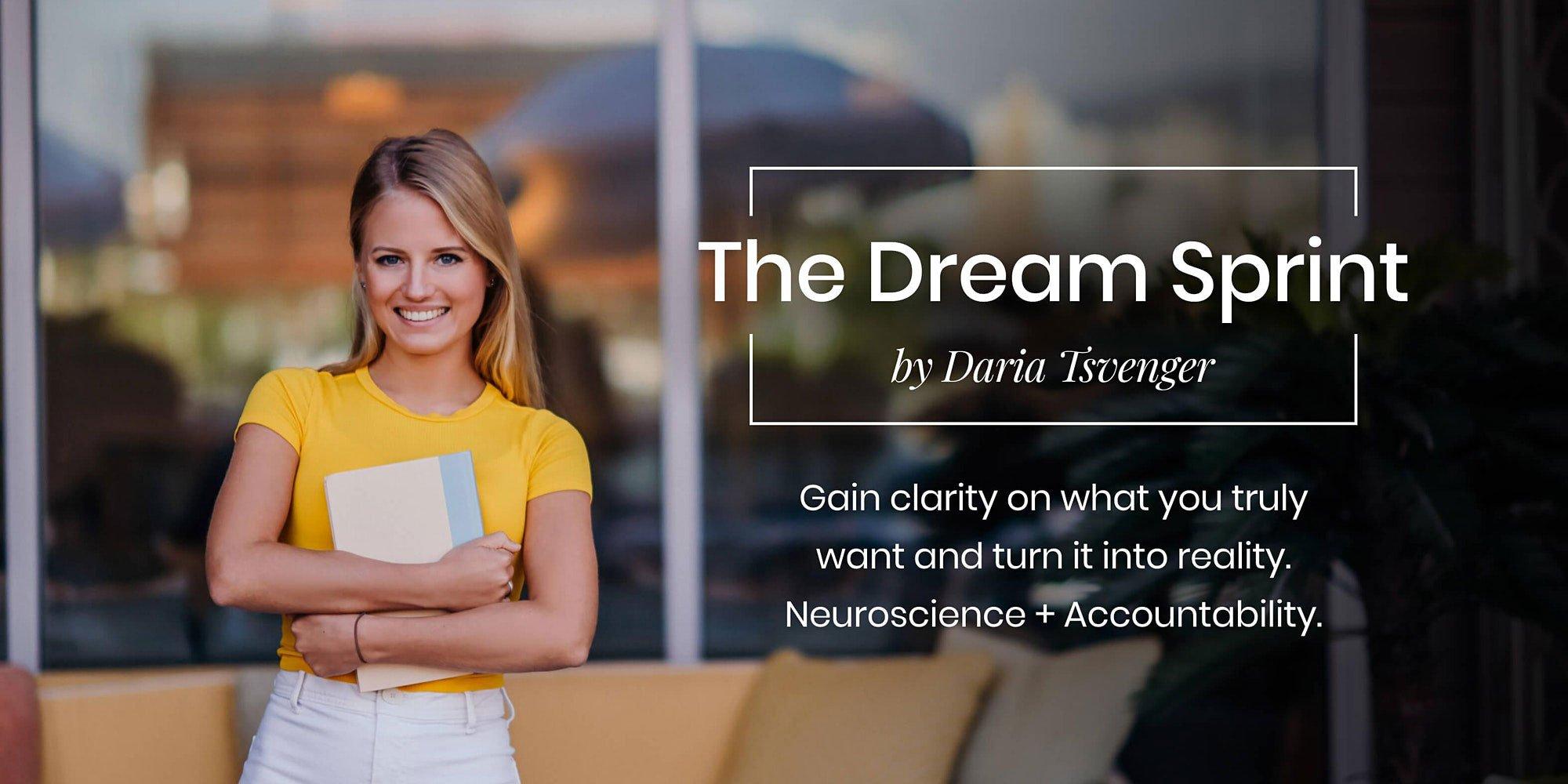 The Dream Sprint by Daria Tsvenger for kalika.com