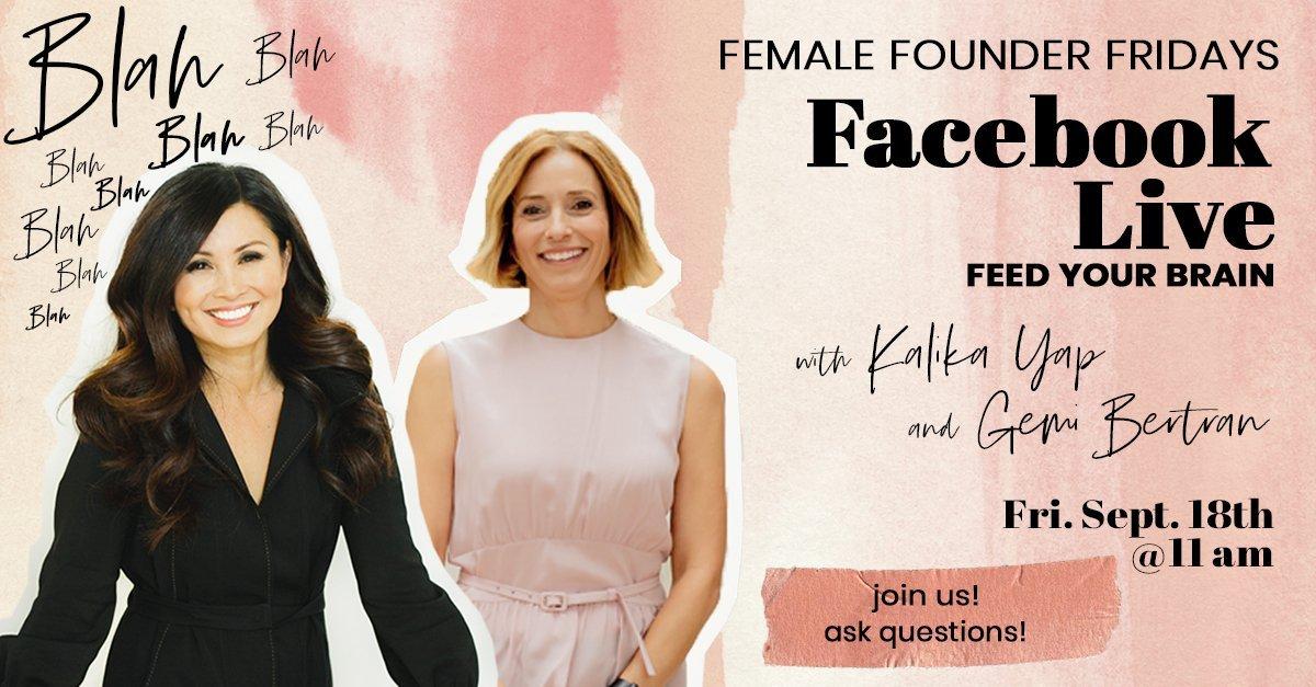 Female Founder Fridays with Gemi Bertran featured image for kalika.com