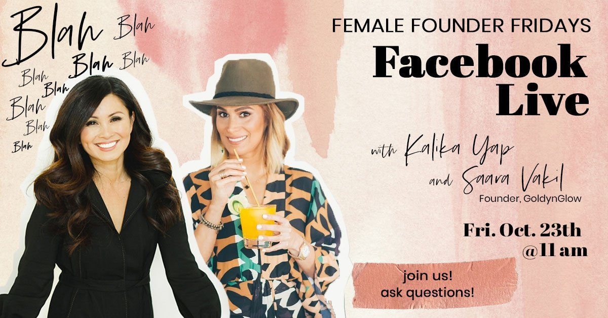 Female Founder Fridays with Saara Vakil featured image for kalika.com