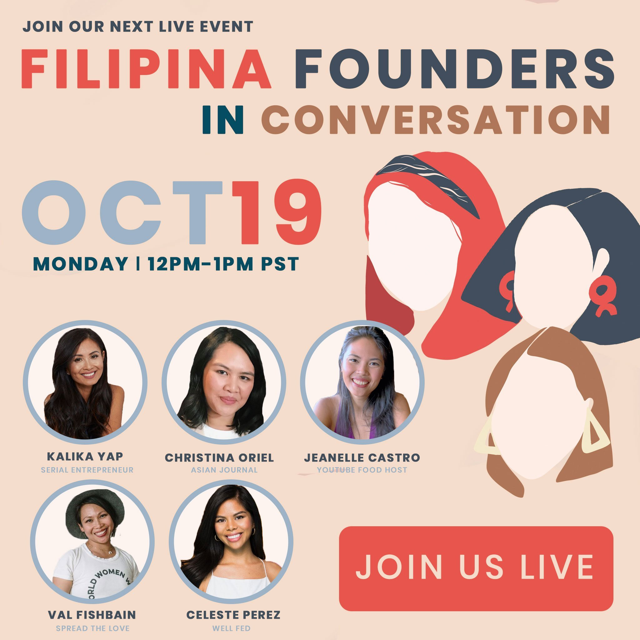 Filipina Founders in Conversation 10/19 featured image for kalika.com