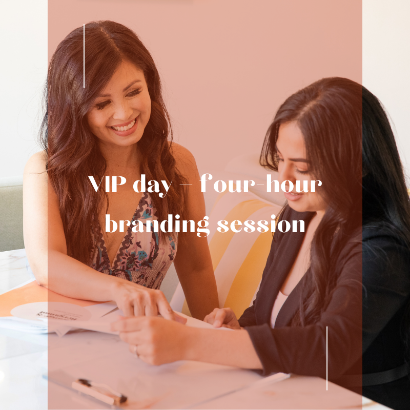 VIP Day - four-hour branding session image for kalika.com
