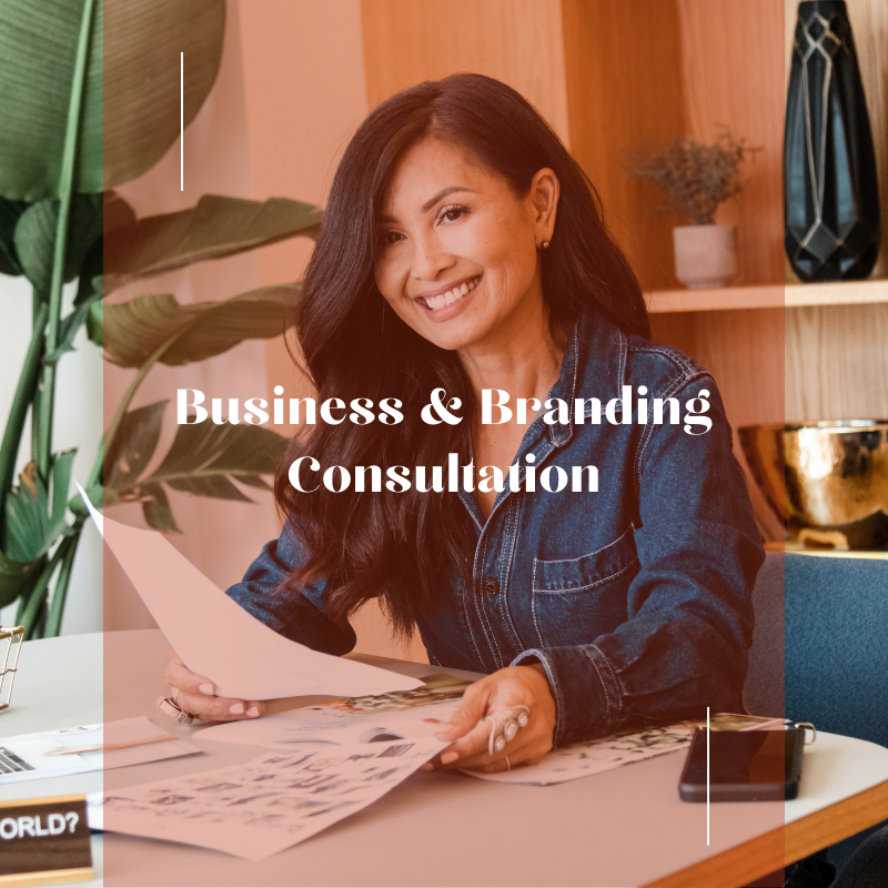 business and branding consultation