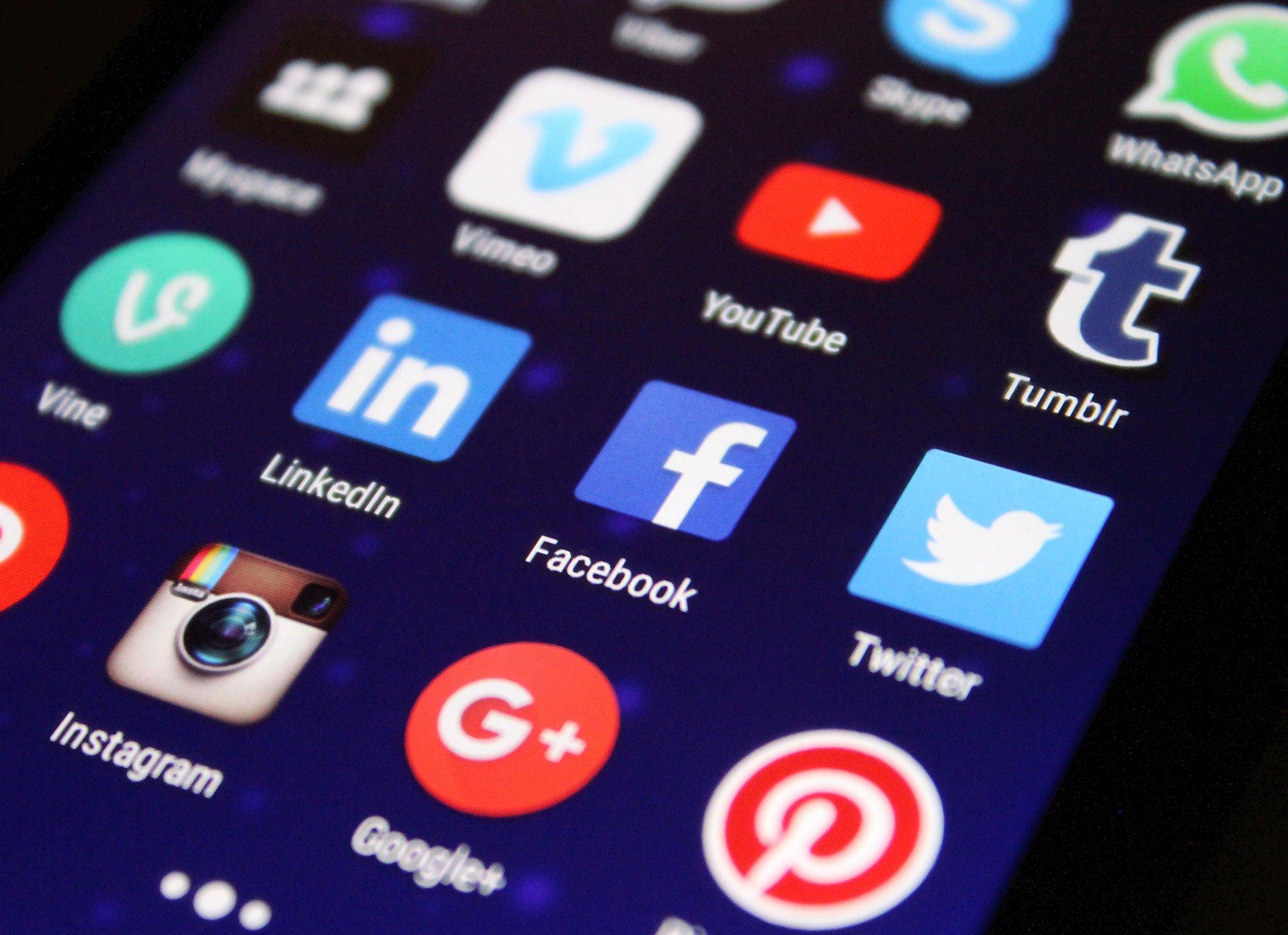 Images of Social media platforms were uploaded for The Clutch of Comparison blog post