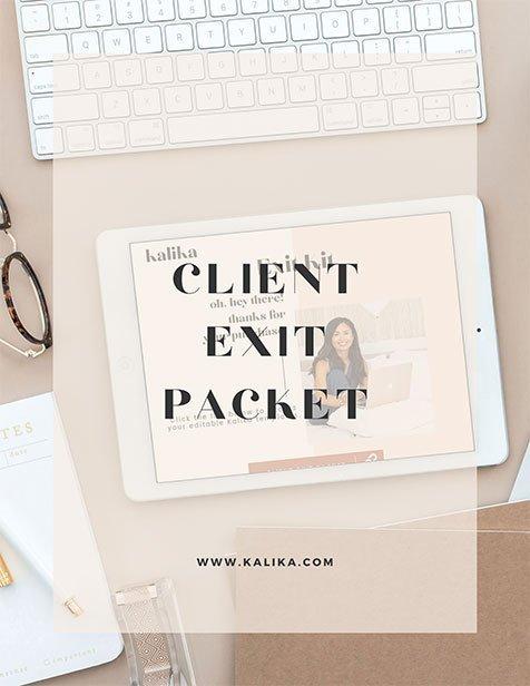 Client Exit Packet thumbnail image for kalika.com