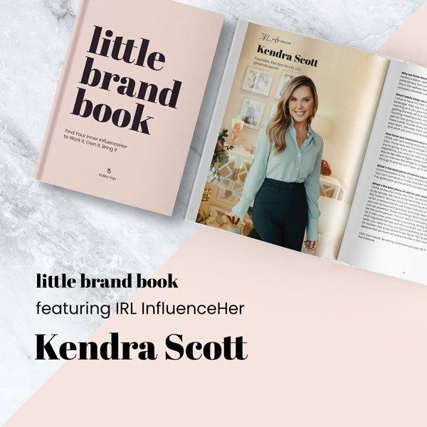 Little Brand Book featured Kendra Scott