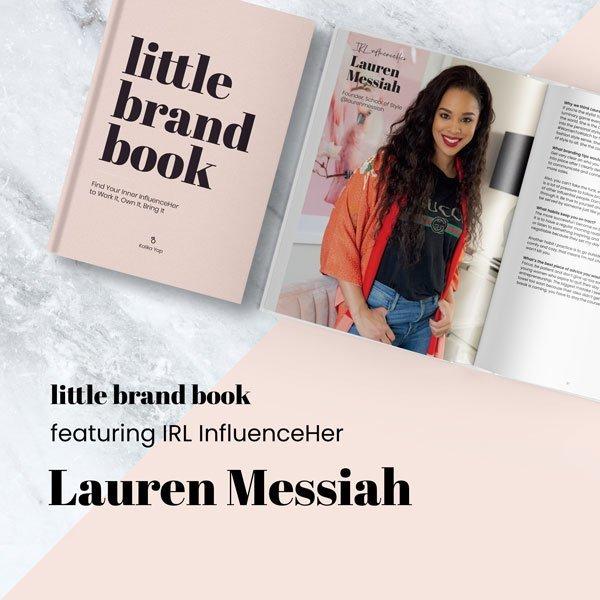 Little Brand Book featured Lauren Messiah