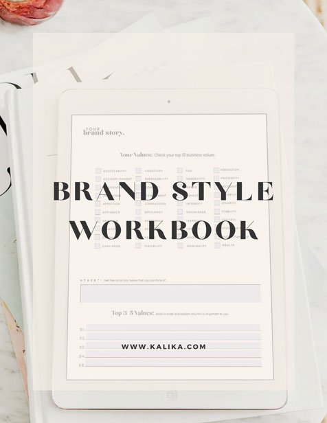 Brand Style Workbook by kalika yap for online marketing file